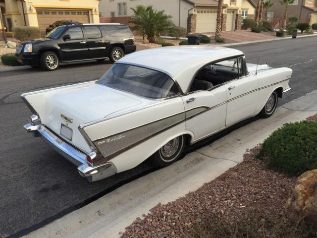 1957 chevy bel air 4 door hard top no post needs work for 1957 chevy 4 door car for sale