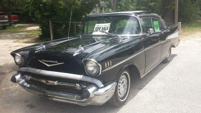 1957 chevy bel air 4 door hardtop original 283 engine with for 1957 chevy bel air 4 door hardtop for sale