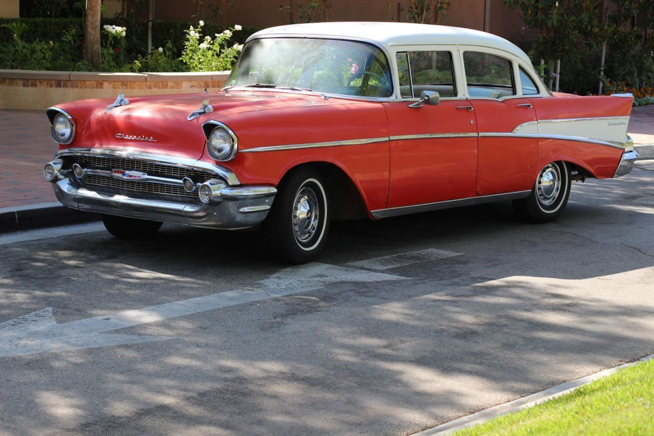 1957 chevy chevrolet 210 with bel air trim 4 door sedan for 1957 chevrolet 4 door