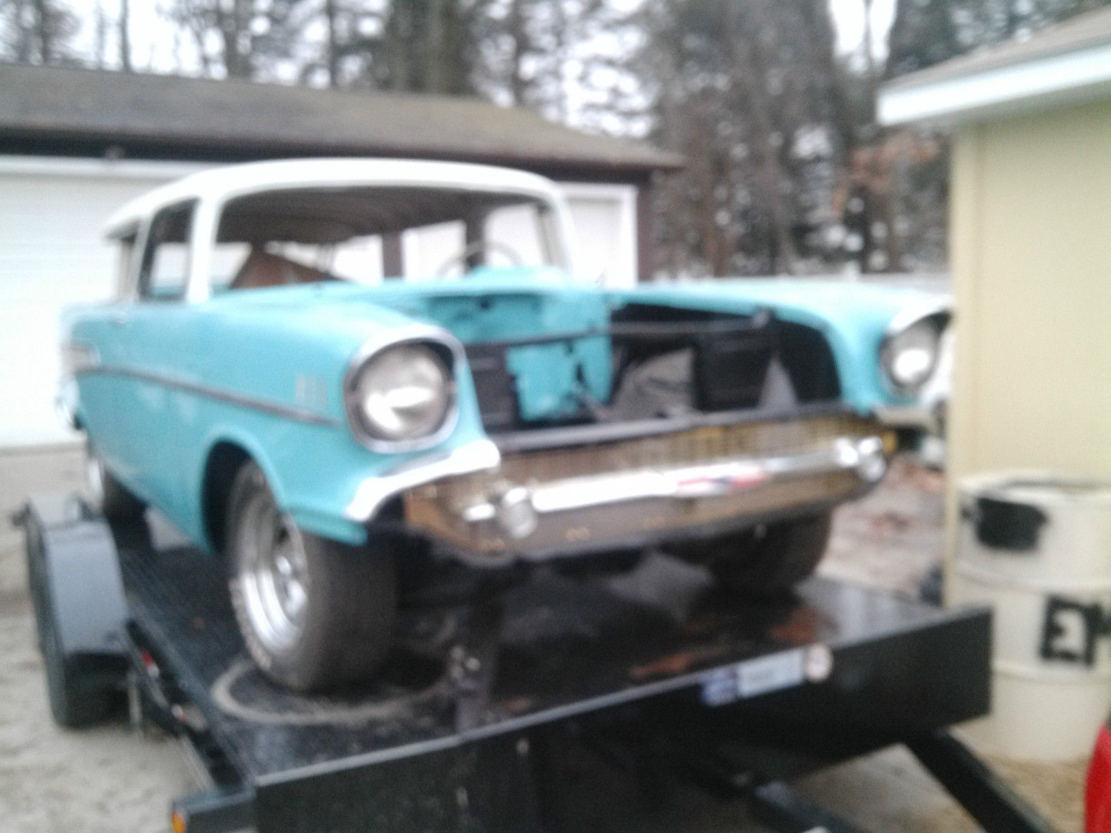 1957 Chevy Nomad Project Car Wagon