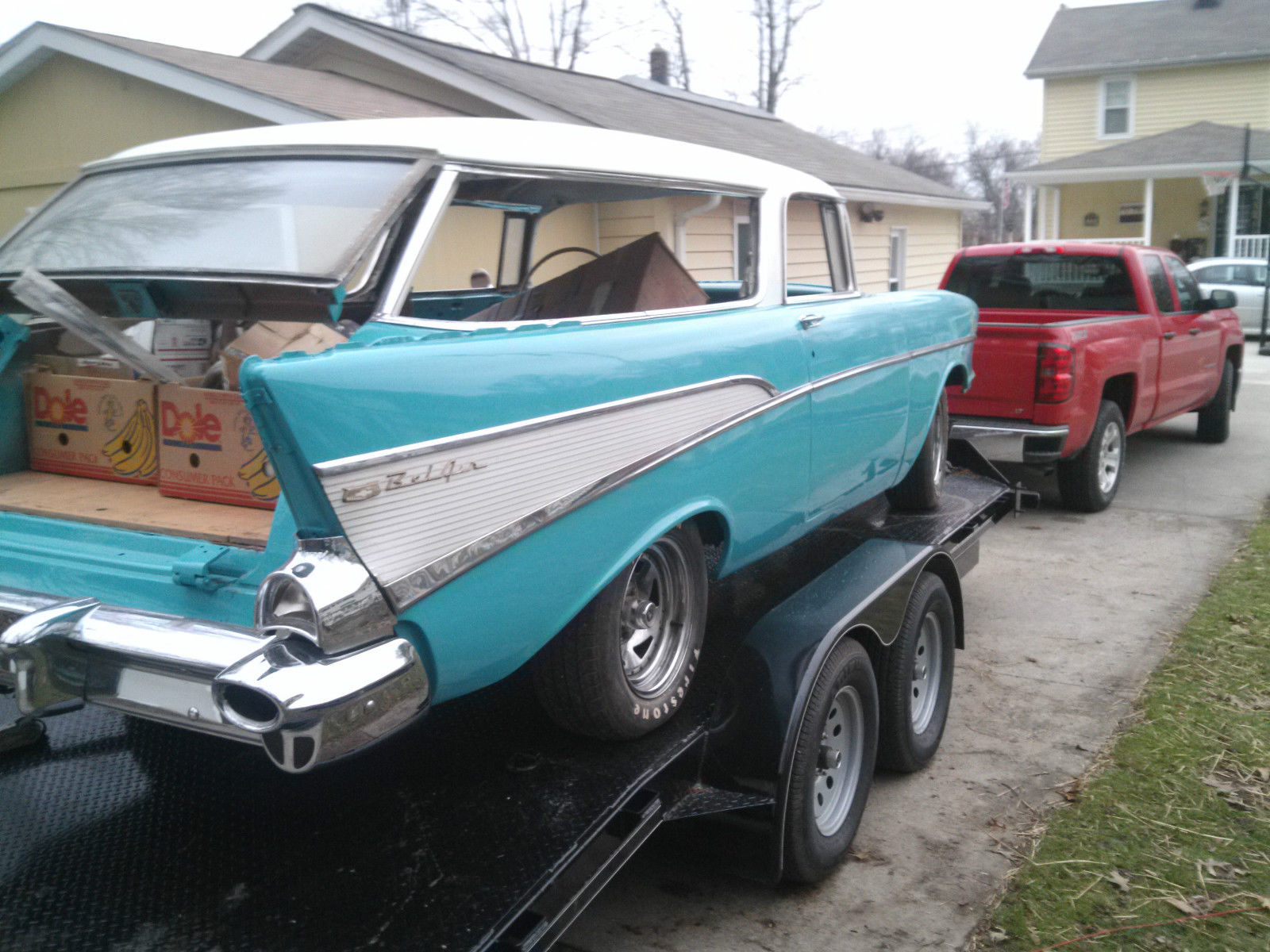 1957 Chevy Nomad Project Car