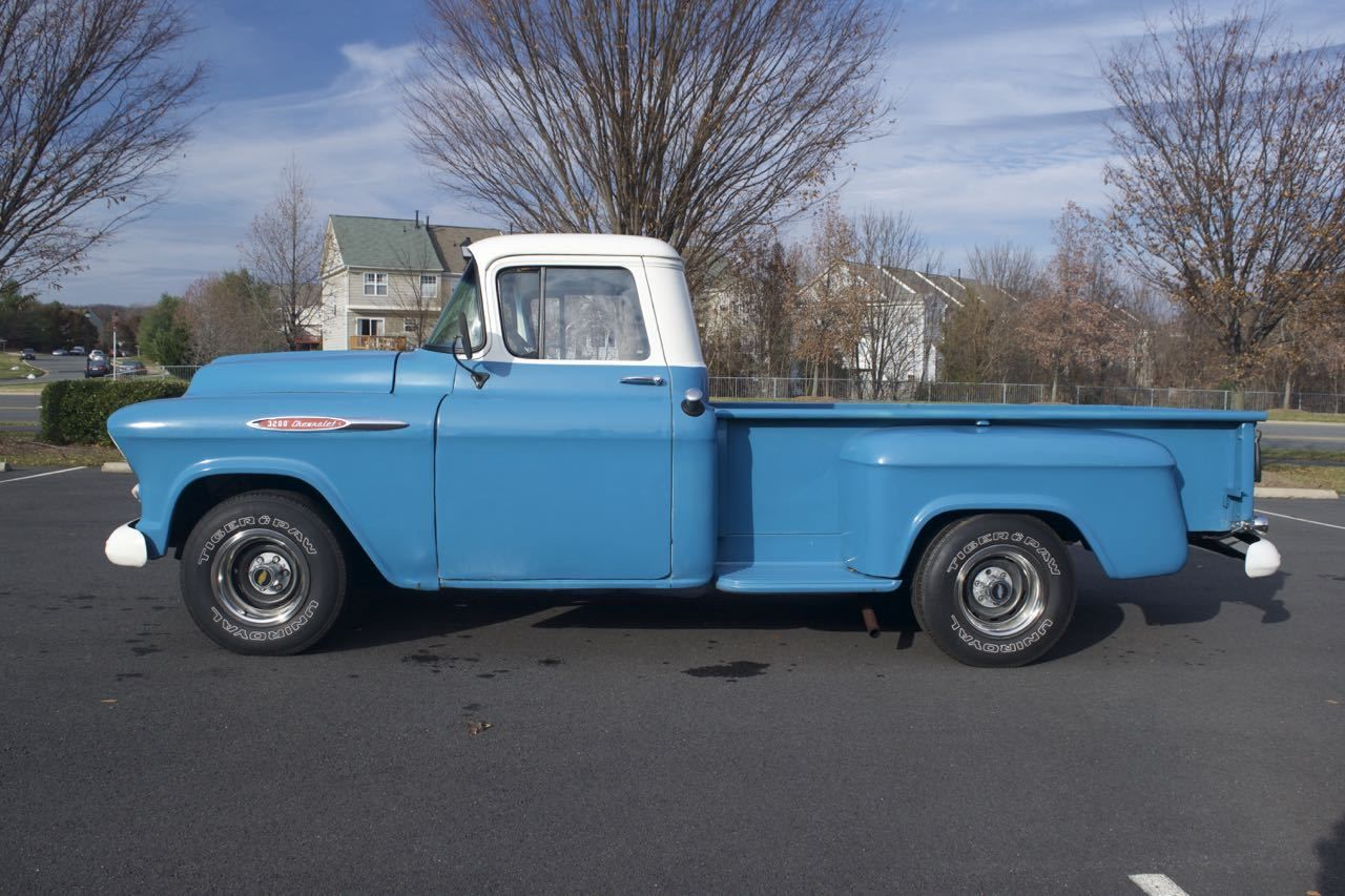 1957 Chevy Pickup Truck 3200 6 Cyl 235 Sale