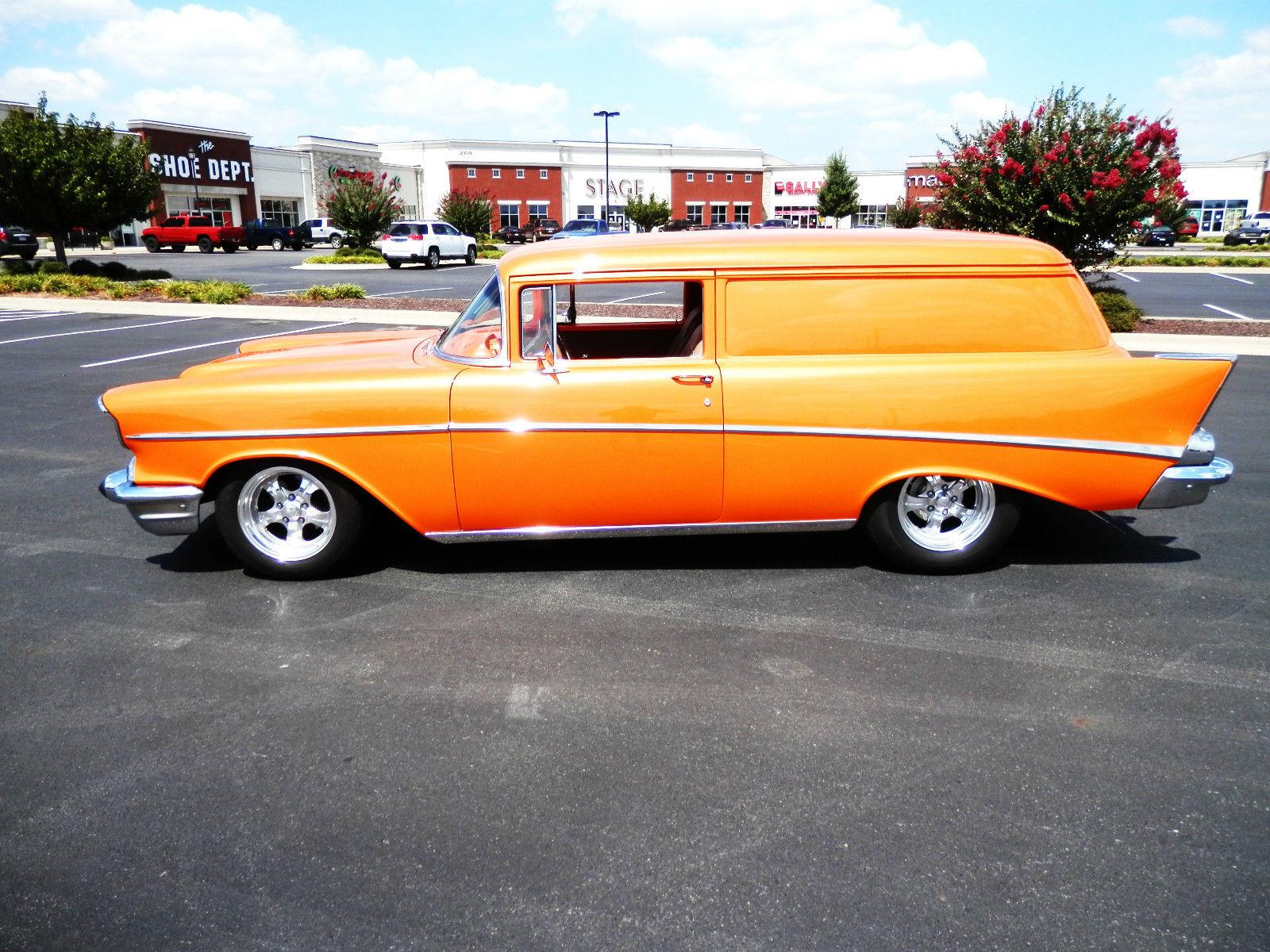 1957 Chevy Sedan Delivery 383 Auto Air Custom Classic Street Hot Rod Bel Show Winner