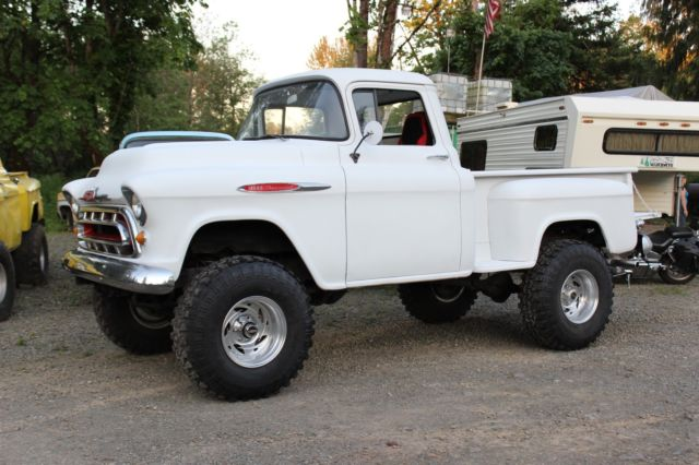 1957 Chevy Short Bed Step Side 4X4 Pickup Truck