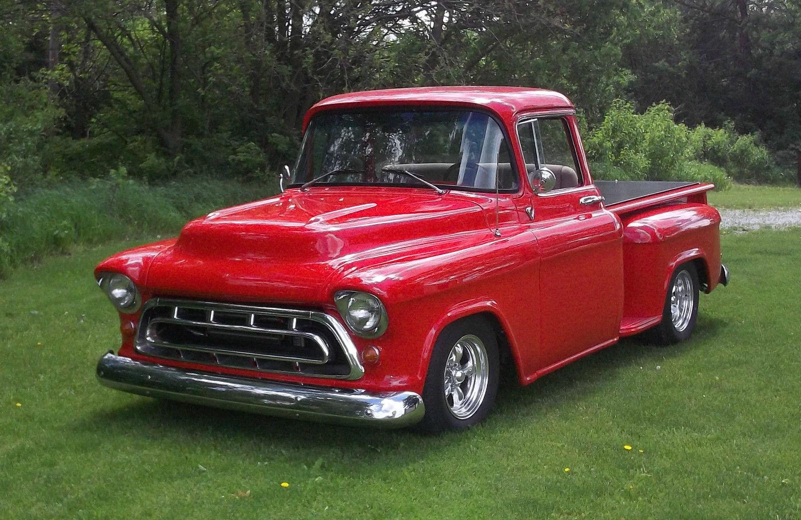1957 chevy truck ls1 pro touring hot rat rod ls 1 swap custom deluxe big window. Black Bedroom Furniture Sets. Home Design Ideas