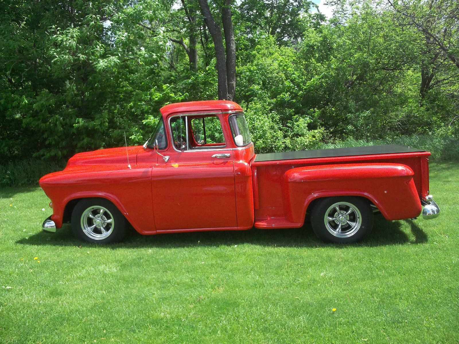 1957 chevy truck ls1 pro touring hot rat rod ls 1 swap for 1957 chevy big window truck for sale