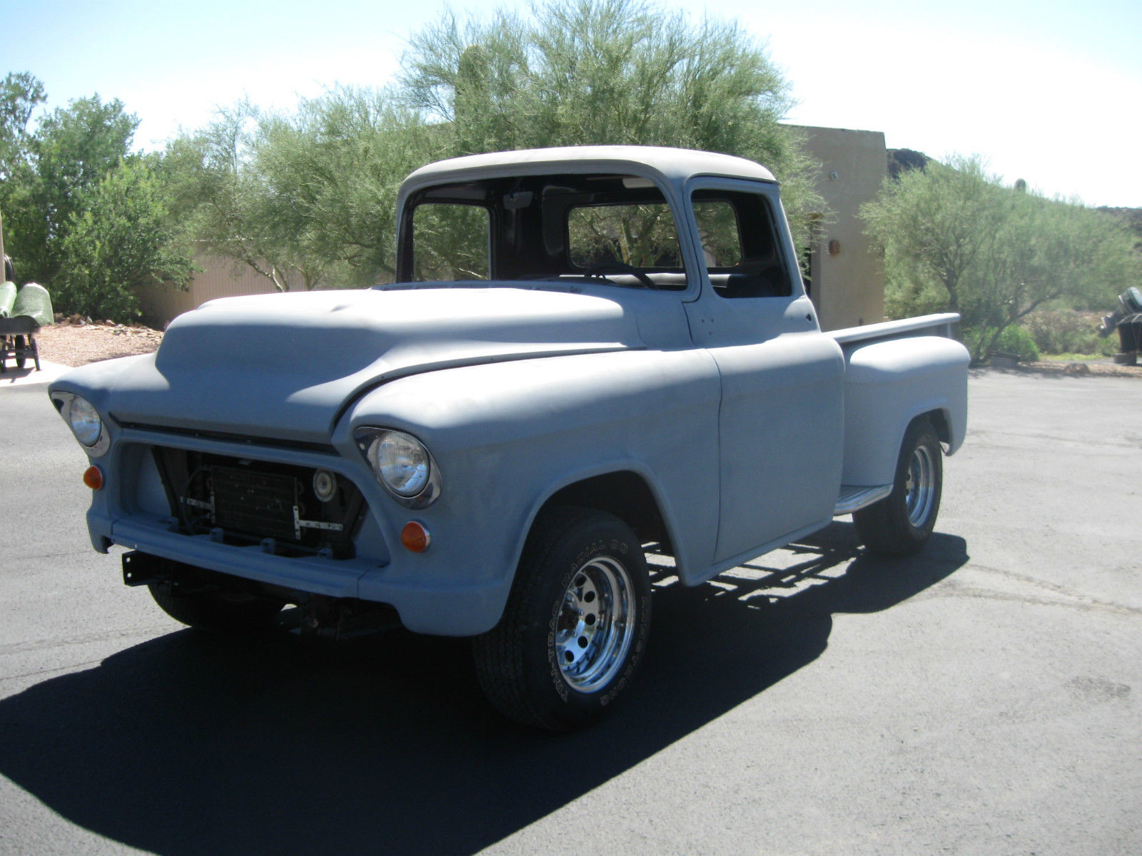 1957 Chevy Truck Short Bed Stepside Pickup Paint Colors