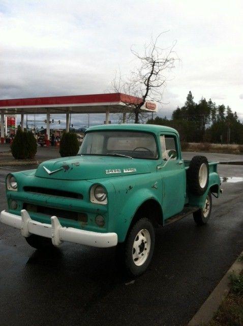 1957 Dodge Power Wagon 1/2 Ton W100 V8 315