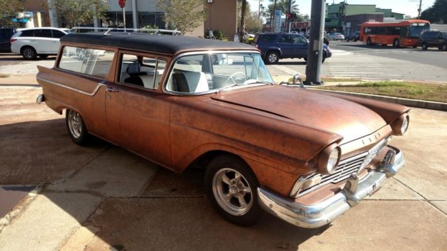 1957 Ford 2 Door Station Wagon | The Wagon