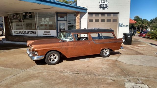 1957 ford 2 door ranch wagon 2 owner new mexico clean for 1957 ford 2 door