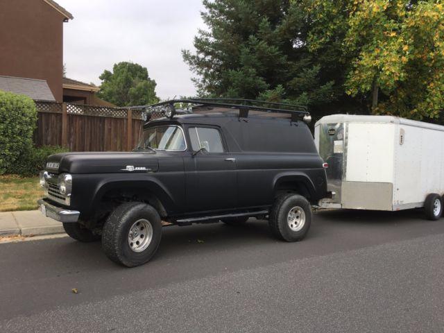 1957 Ford Panel Truck F100 F250 F350 Custom 4x4 Classic
