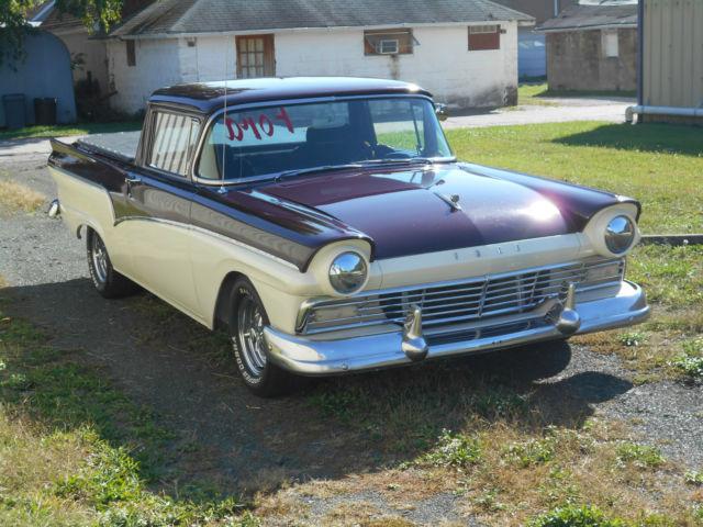 1957 Ford Ranchero Streetrod Custom    Click Link Watch Videos