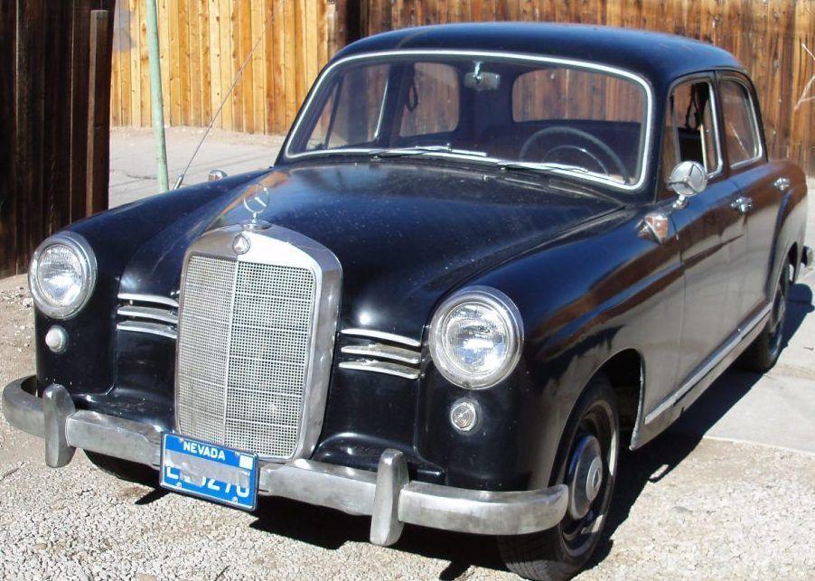 1957 mercedes 180d ponton for Mercedes benz reno nv