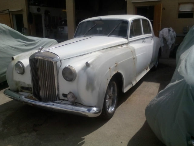 1957 Rolls Royce Silver Cloud Bentley S1 Barn Find Hot Rod