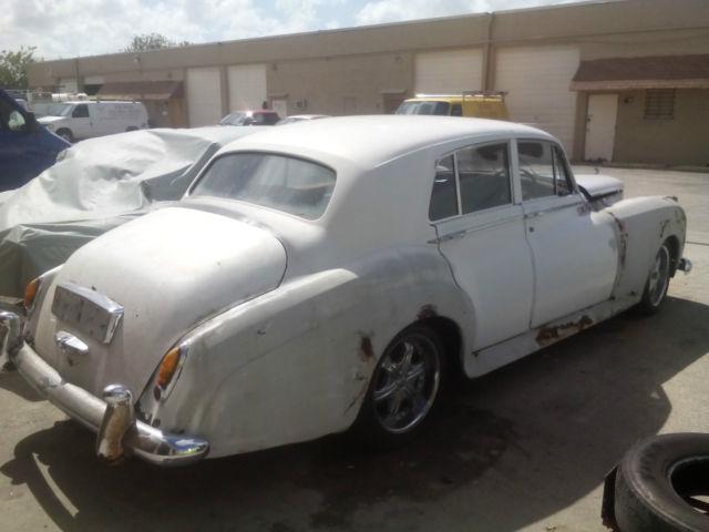 Rolls Royce Limo >> 1957 ROLLS ROYCE SILVER CLOUD BENTLEY S1 BARN FIND HOT ROD ...