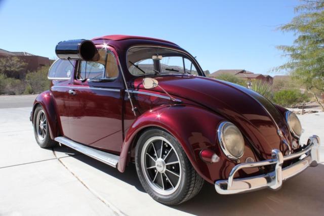 1957 volkswagen beetle oval ragtop. Black Bedroom Furniture Sets. Home Design Ideas