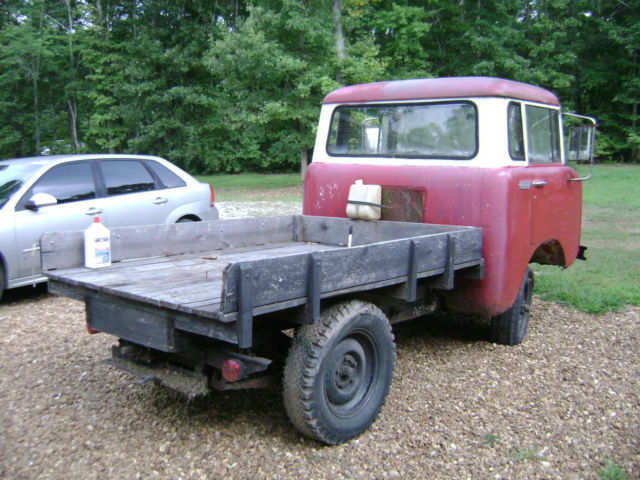 1957 Willys Jeep FC 150 4x4 FC150 Kaiser with PTO