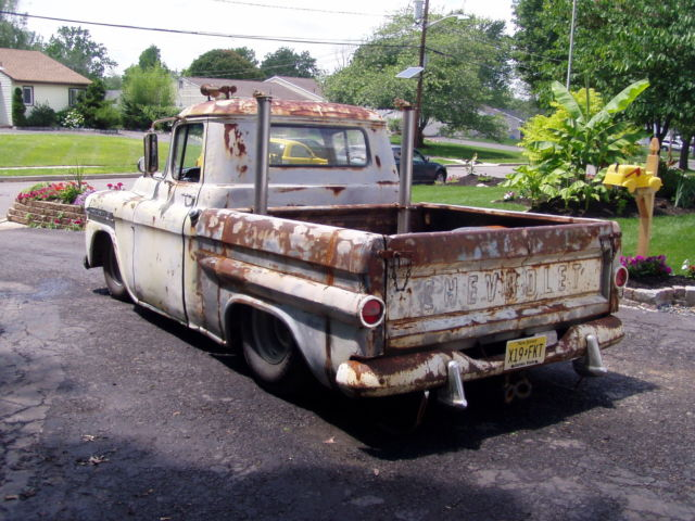 1958 Chevrolet Apache Rat Rod Truck 454 Pickup Chevy Hot Rod