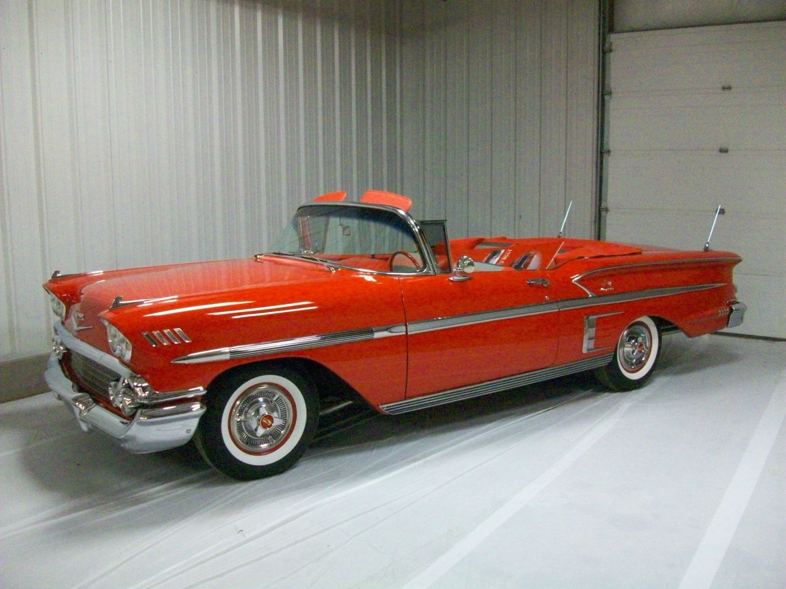 1958 Chevrolet Impala Convertible 348 Tripower Frame Off Restored 1957 Chevy