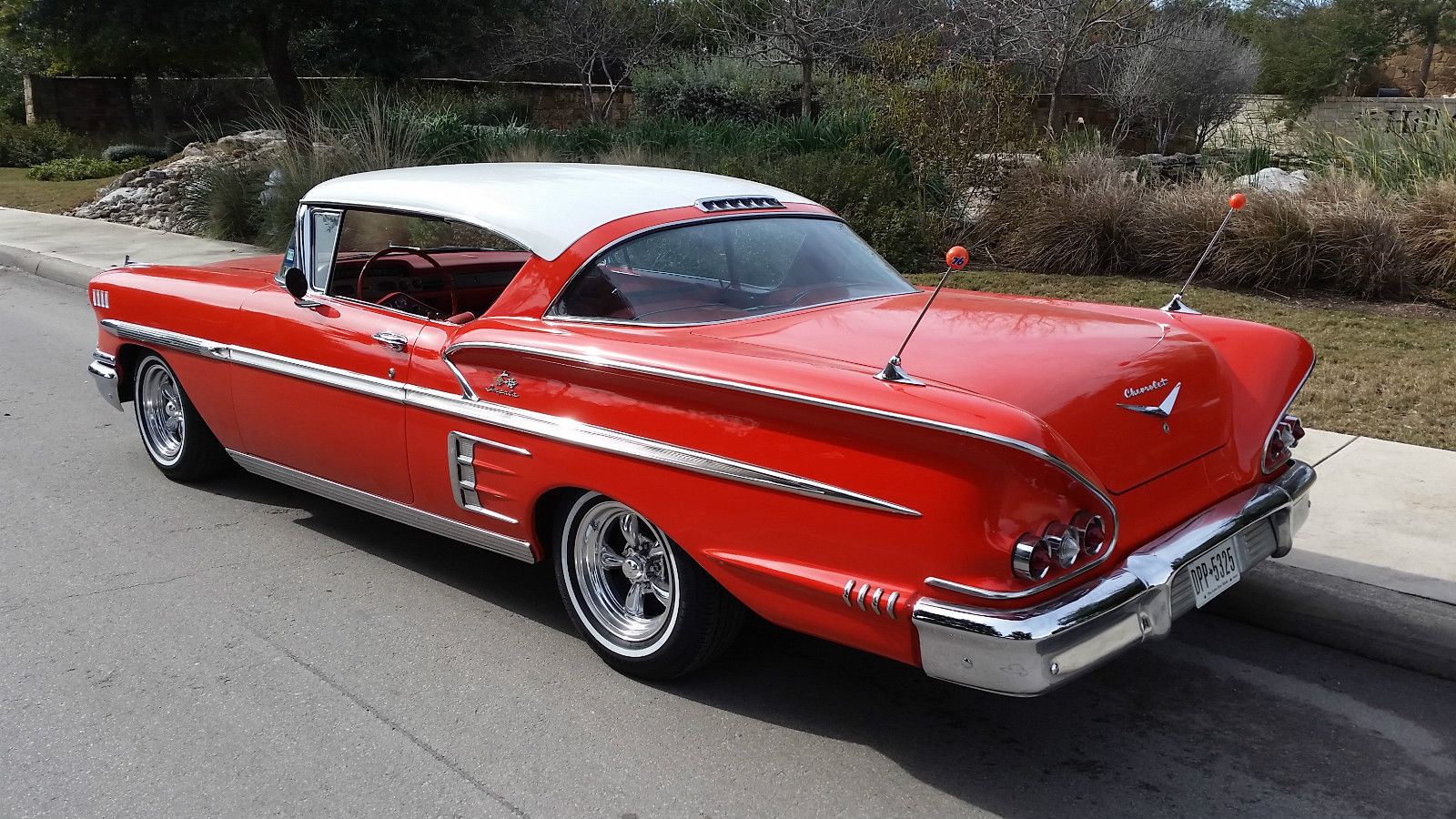 1958 chevy impala sport coupe 2 door hardtop 327 sb 4 speed complete solid. Black Bedroom Furniture Sets. Home Design Ideas
