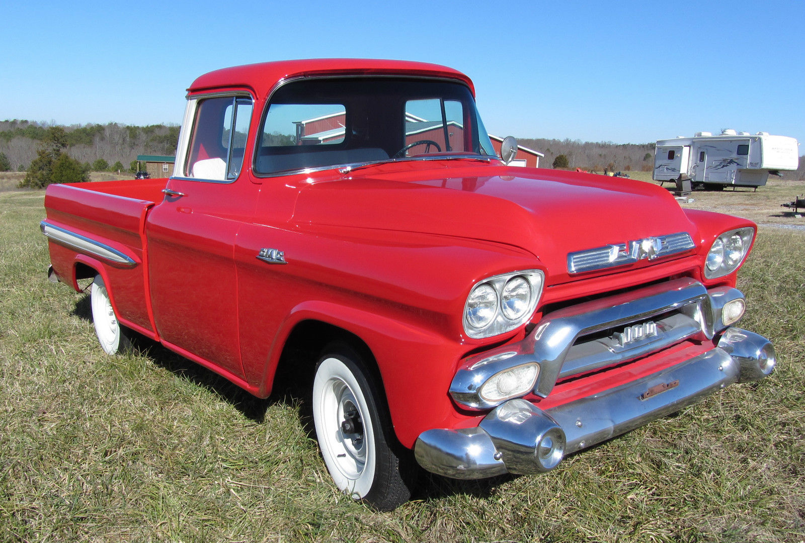 1958 gmc fleetside pickup classic truck for sale in boiling springs south carolina united states. Black Bedroom Furniture Sets. Home Design Ideas