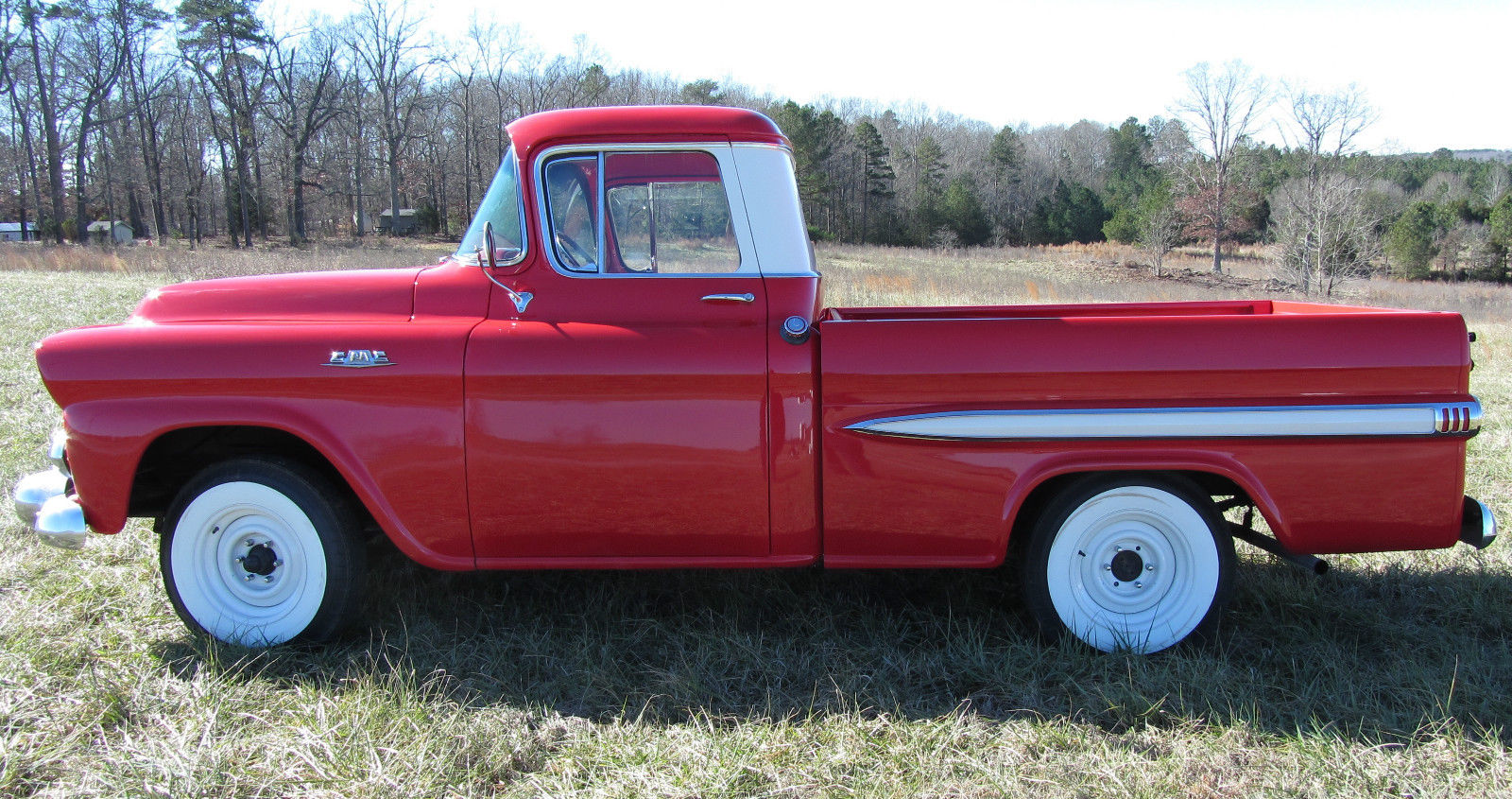 1958 Gmc Fleetside Pickup Wideside Chevrolet Custom