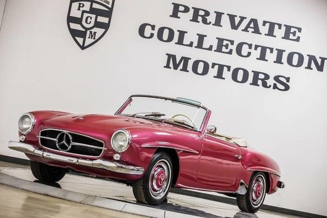 1958 mercedes benz 190sl restored rare color must see for Mercedes benz of long beach service