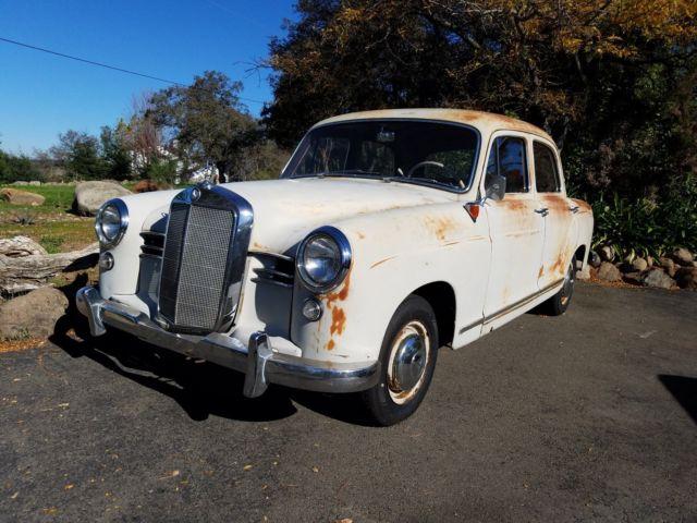 1958 mercedes benz karosserie 180d for Mercedes benz 180d for sale
