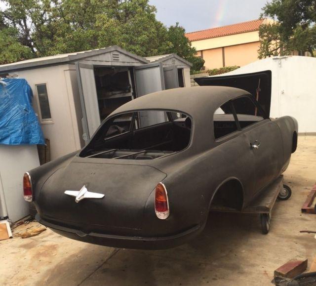 1959 Alfa Romeo Giulietta Sprint 750 101 Body Shell Parts