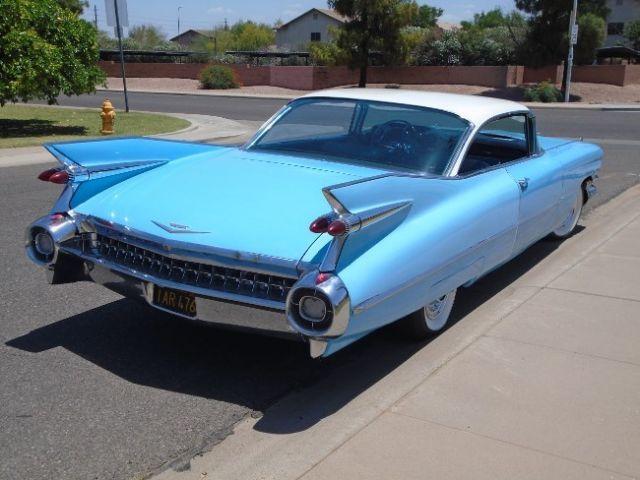 Cars For Sale Fresno Ca >> 1959 Cadillac Coupe DeVille series 63 CA. BLACK PLATES NO RUST 1960, BUBBLE TOP
