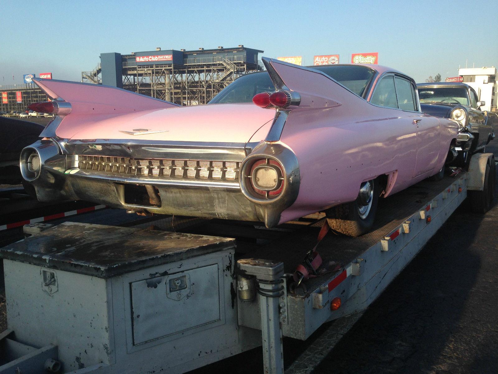 1959 Cadillac Coupe Solid Car No Eldorado Parts Yet 98 5