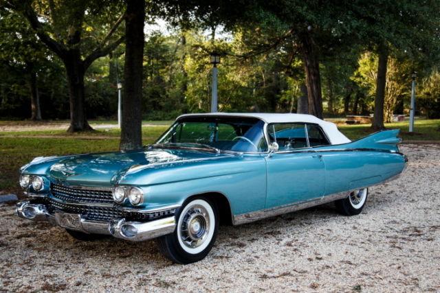 1959 Cadillac Eldorado Biarritz Convertible Body Off Frame 1 Of 99