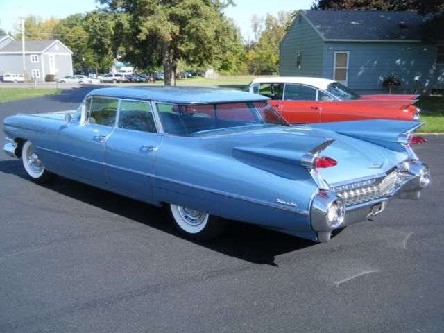 1959 Cadillac Sedan Deville 4 Window Flat Top Original