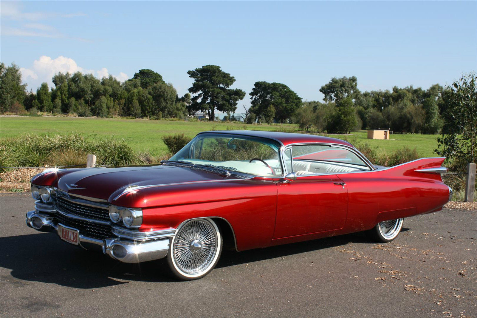 1959 Cadillac Series 62 Coupe Deville Candy Red Custom Built Show Toyota Pickup Fuel Filter Location Car 390cbi V8 For Sale In Carrum Downs Vic Australia