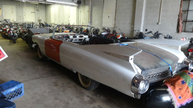 1959 California Cadillac Convertible Project Car