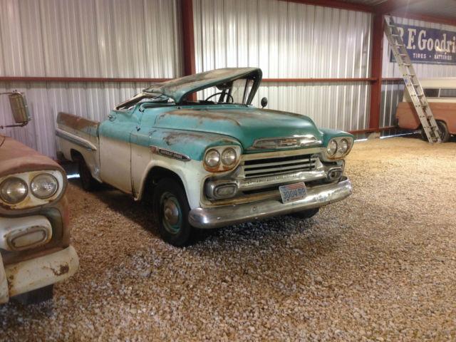 1959 Chevrolet Apache 31 Custom Cab SWB Fleetside For Sale In Burnet