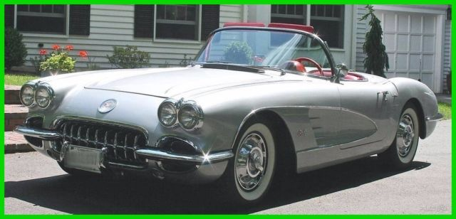 1959 chevrolet corvette used manual convertible chevy numbers matching. Black Bedroom Furniture Sets. Home Design Ideas