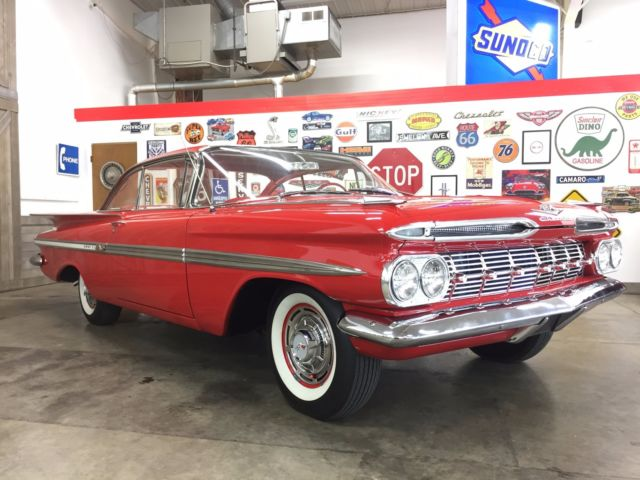 1959 chevrolet impala tri power 348 ci 3 speed over drive texas car. Black Bedroom Furniture Sets. Home Design Ideas