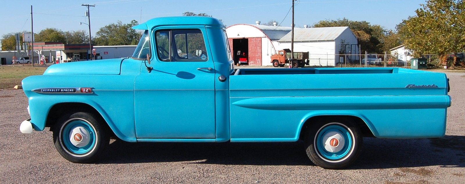 1959 chevy apache 3200 pickup truck 235 6 cylinder for sale in pilot point texas united states. Black Bedroom Furniture Sets. Home Design Ideas