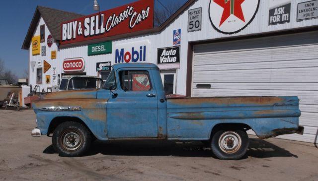 1959 Chevy Apache Pickup 36