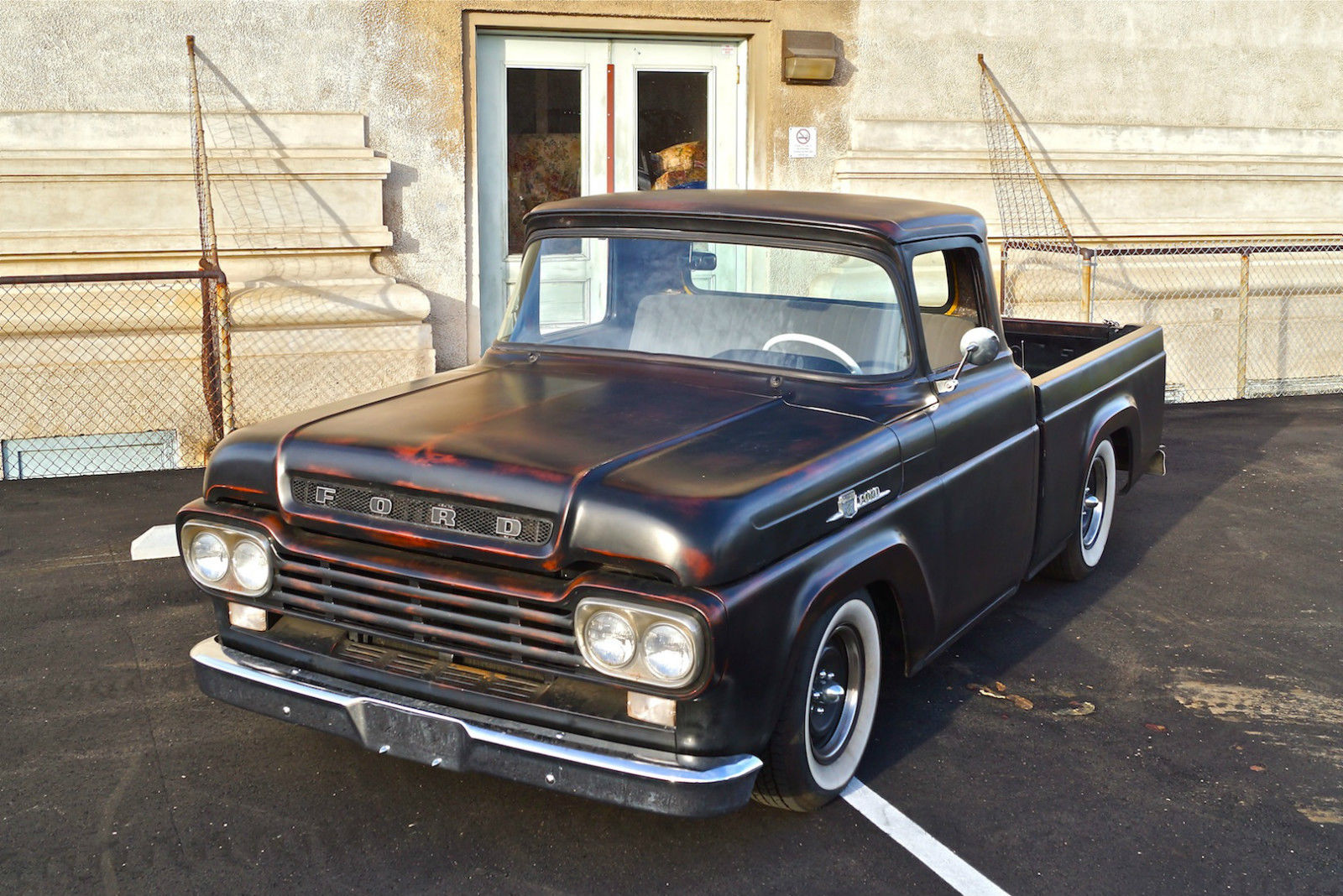 1959 ford f100 shortbed fleetside custom for sale in san diego  california  united states S10 V8 Wiring Harness S10 V8 Conversion Kit