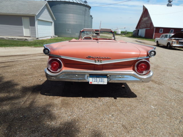 1959 Ford Fairlane Galaxie 500 Convertible New Soft Top
