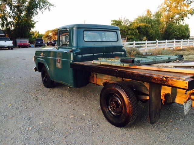1959 Ford Truck Flatbed Original Clean F250 1957 1958 1960