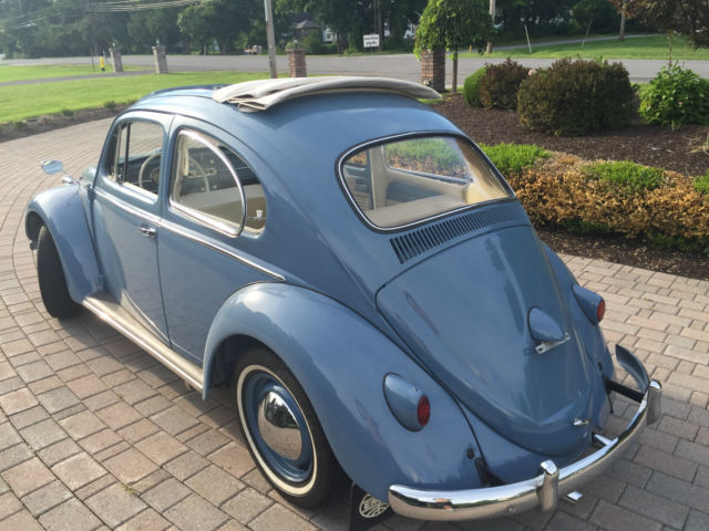 1959 Vw Beetle Ragtop Beautiful  No Reserve