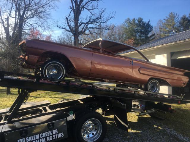 1960 60 Chevrolet Chevy Impala Belair 2 Door Dr Hardtop Lowrider