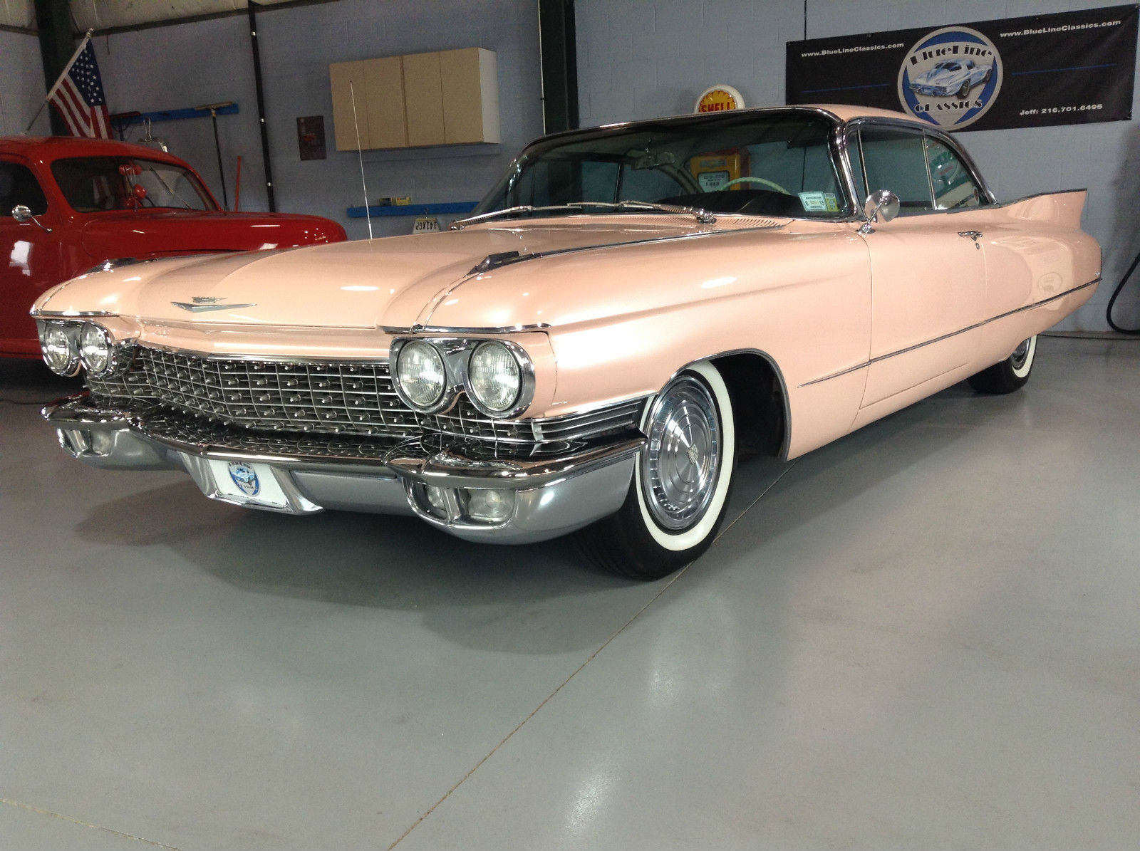 1960 cadillac coupe deville gorgeous pearl pink 50k. Black Bedroom Furniture Sets. Home Design Ideas