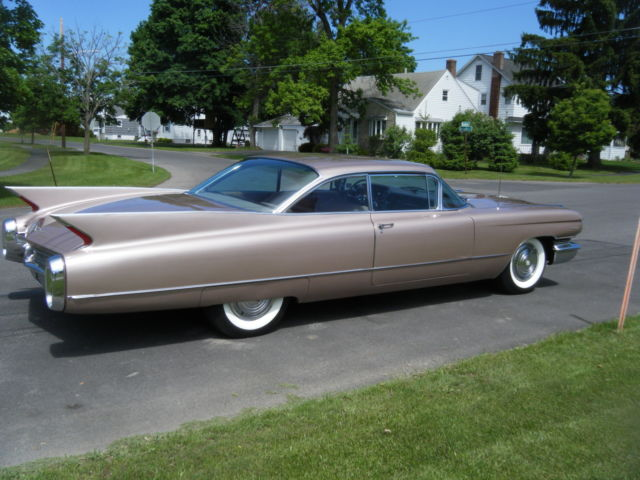 1960 Cadillac Coupe Series 62 Beautiful Persian Sand Also