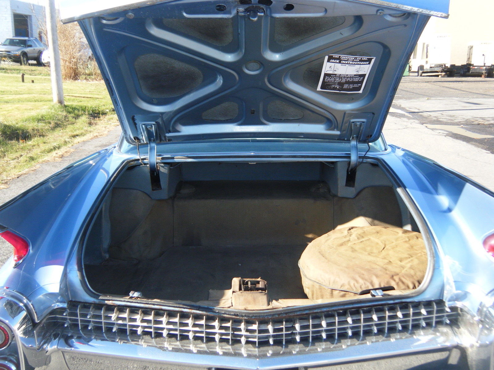 1960 Cadillac Fleetwood Rare Special Order Car Listing 1951 1959 Paint Colors Soonlook