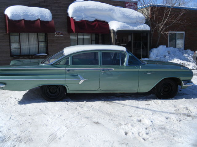 1960 Chevrolet Bel Air From Long Storage Listing 1959 And 1960