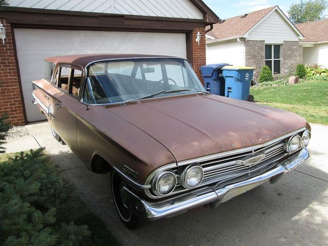1960 chevrolet impala nomad wagon one owner orig title. Black Bedroom Furniture Sets. Home Design Ideas